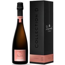Champagne D Rosé Gift Box NV Devaux 0.750 L