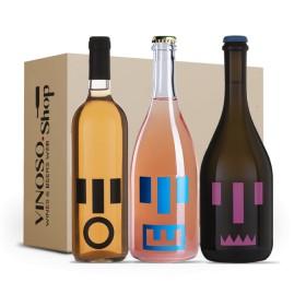 3 BOTTIGLIE DI VINO BIOLOGICO Esperienza Biologica Mostruosa Monster's Wine Tavignano 0,750 L