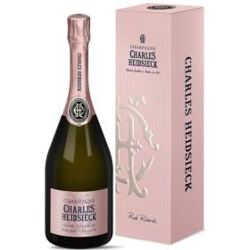 Champagne Rosé Réserve Astucciato NV Charles Heidsieck 0,750 L