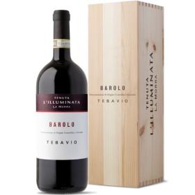 Barolo Docg Barolo Tebavio Magnum Wooden Case 2009 Tenuta L'Illuminata 1.5 L