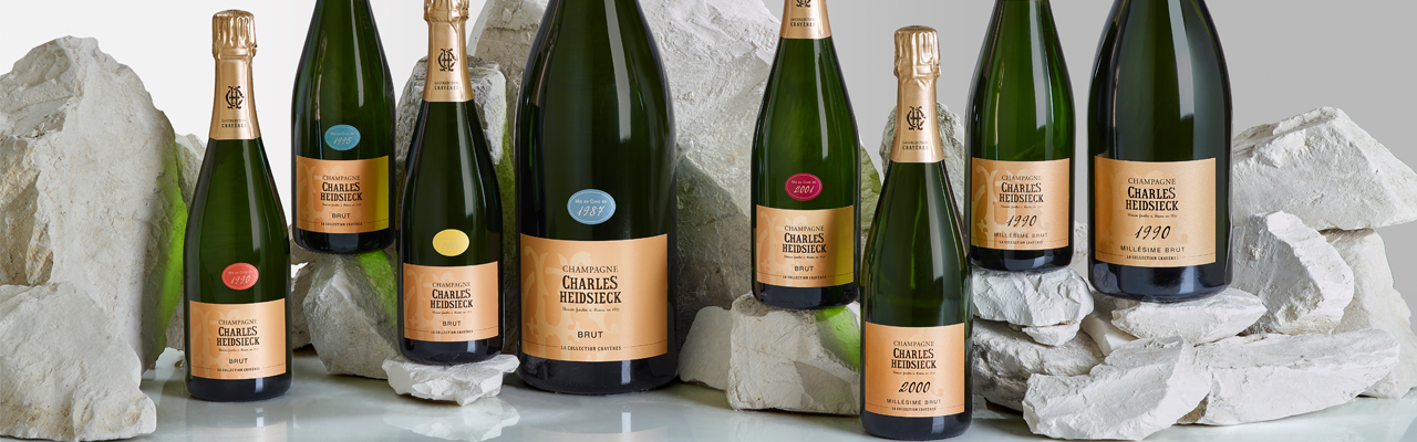 Charles Heidsieck COLLECTION CRAYÈRES 2020: gemme destinate a rimanere nella memoria.
